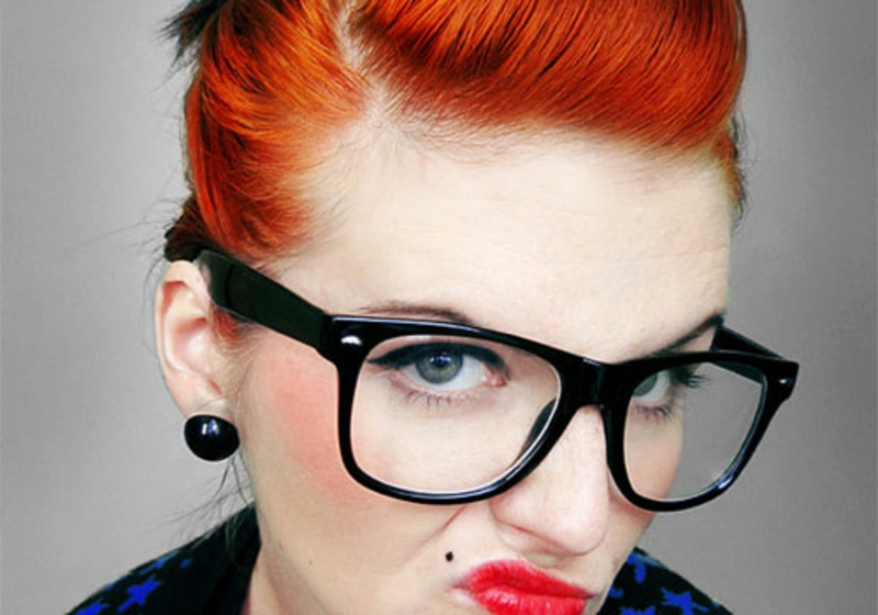rockabilly-frisuren-Vintage carrot