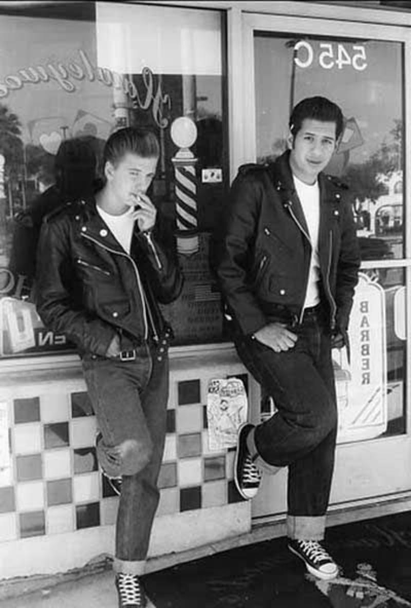 rockabilly-frisuren-männer-50s-mens-greaser-haircuts