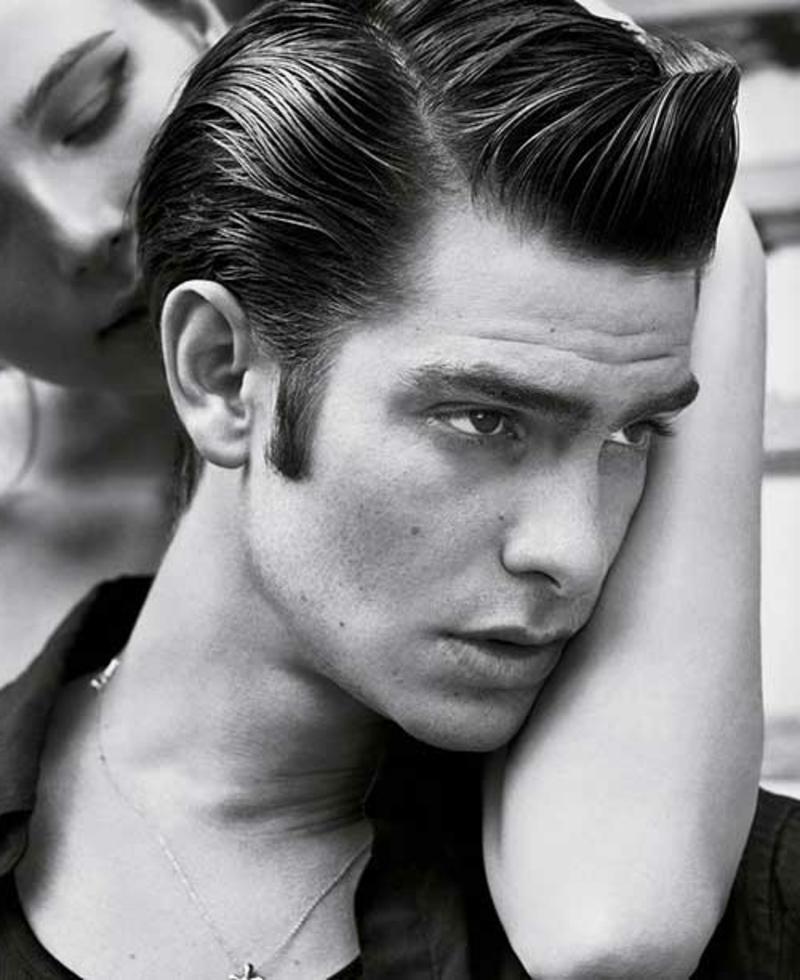 rockabilly-frisuren-männer-Rockabilly Bright Hair for Men