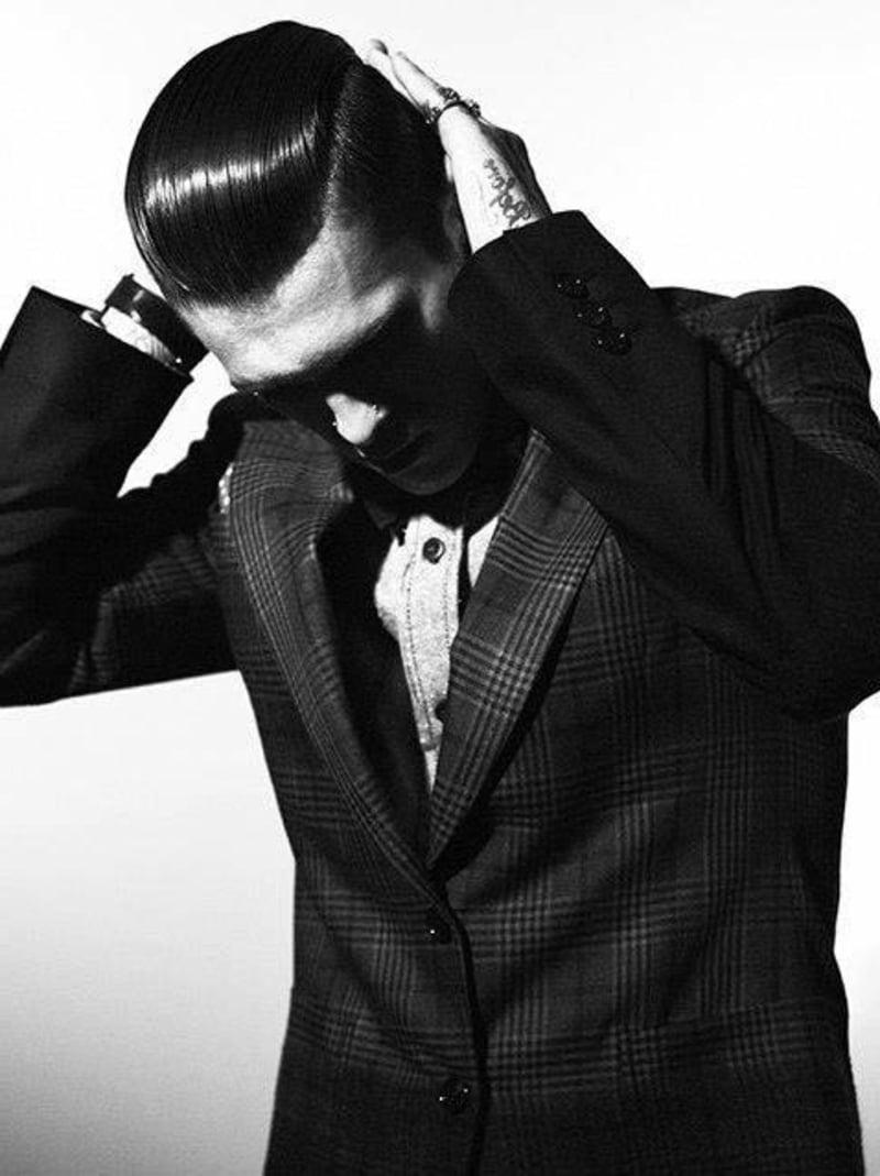 Rebellische Rockabilly Frisuren Fur Manner Frisurentrends Zenideen