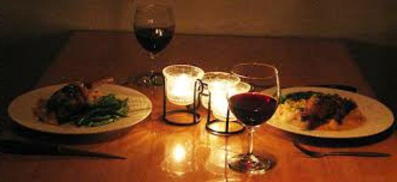 romantische-ideen-Candlelight dinner 4