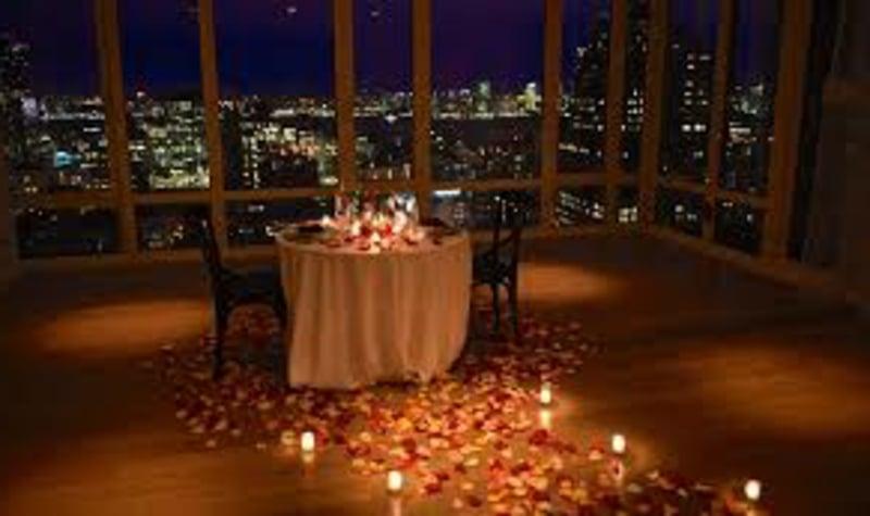 romantische-ideen-Rooftop dinner 8