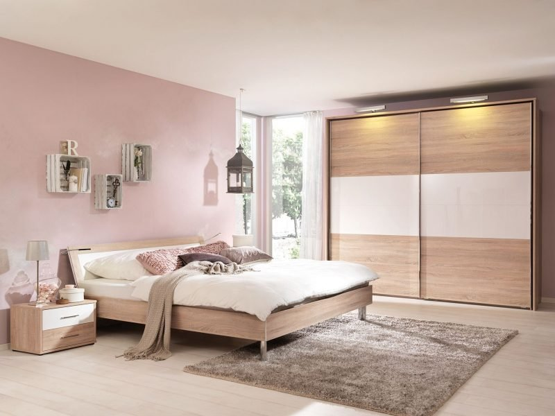 Wandfarbe schlafzimmer rosa