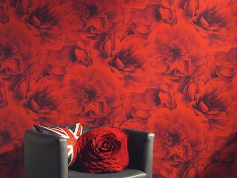 ausgefallene tapeten f r originelle wandgestaltung. Black Bedroom Furniture Sets. Home Design Ideas
