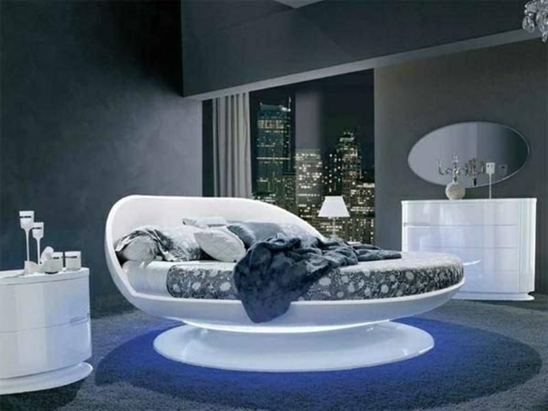 luxus bett im urbanen stil