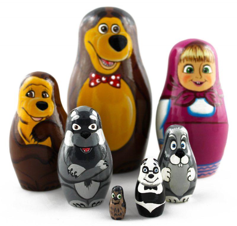 russische puppen lustig