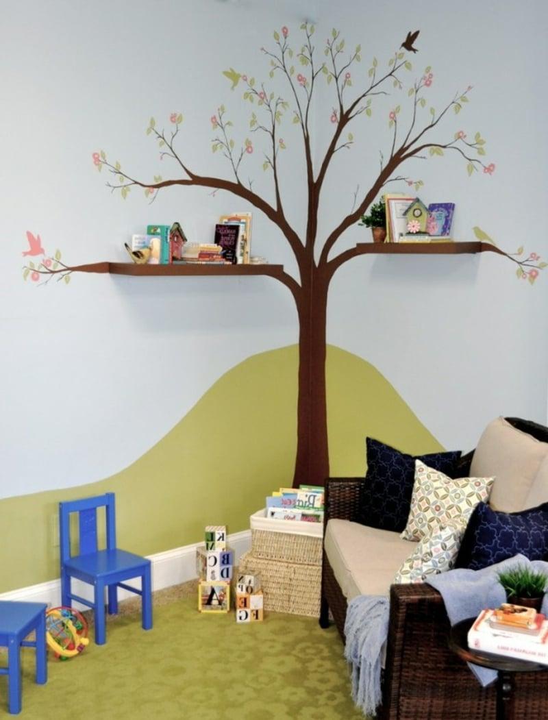 30 ideen zur gelungenen kinderzimmergestaltung for Aquarium im kinderzimmer