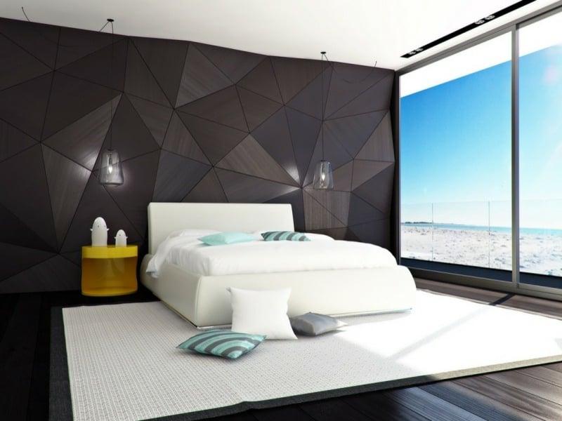 Luxus schlafzimmer schwarz weiß  Luxus Schlafzimmer
