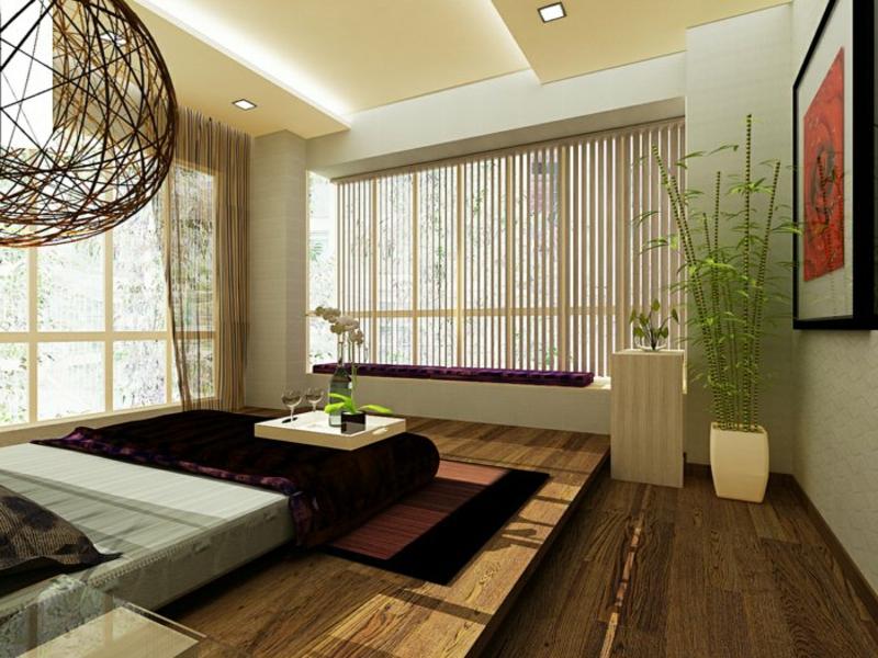 bambus in der schlafzimmergestaltung