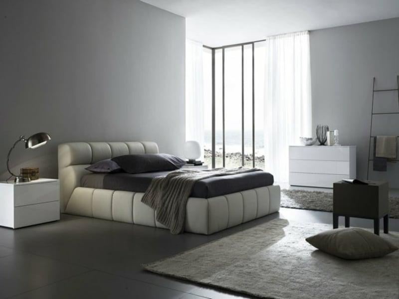 schöne gardinen im schlafzimmer
