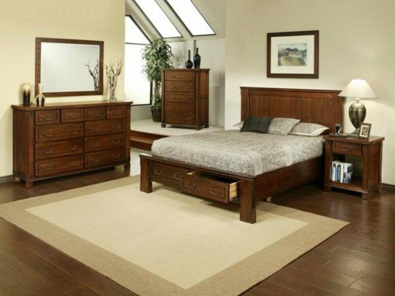bali stil schlafzimmergestaltung