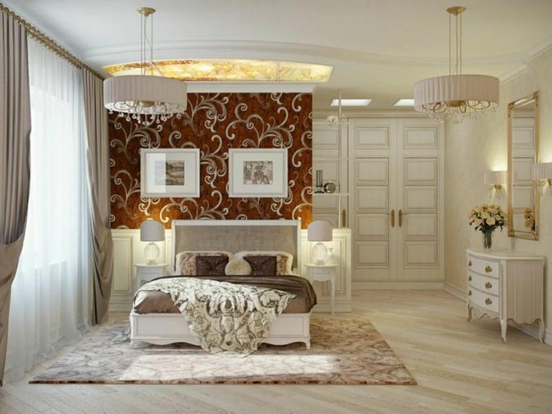 pastelle Schlafzimmergestaltung