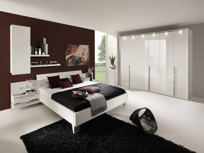 extrem modische schlafzimmergestaltung
