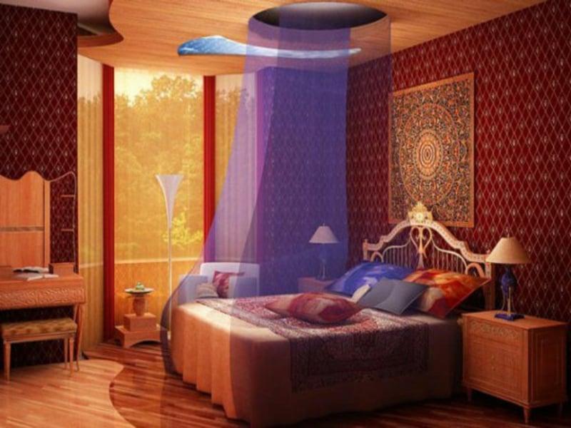 designer bunte schlafzimmergestaltung