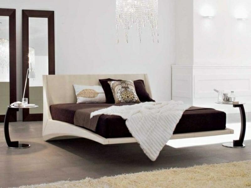 modernes schwebendes bett im luxus schlafzimmer