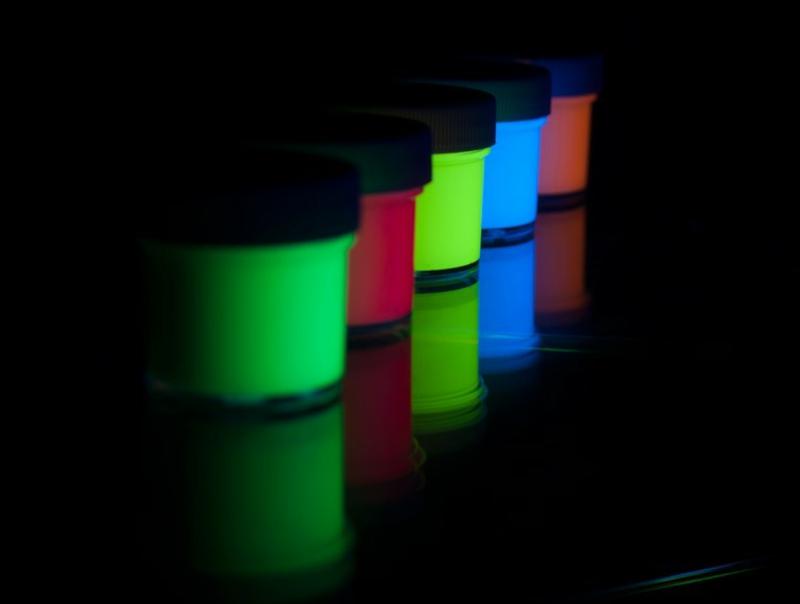 fluoreszierende Farben