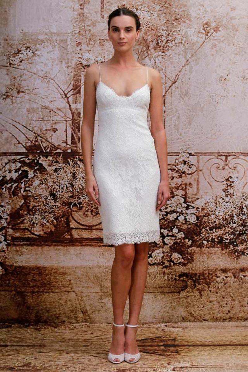 simpler Hochzeitskleid schöne Brautkleider