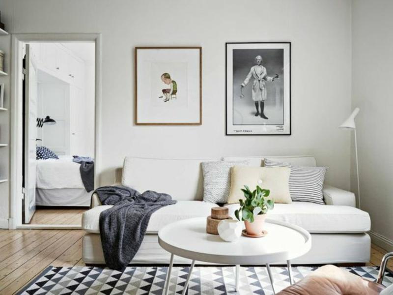 designer skandinavisches wohnzimmerteppich