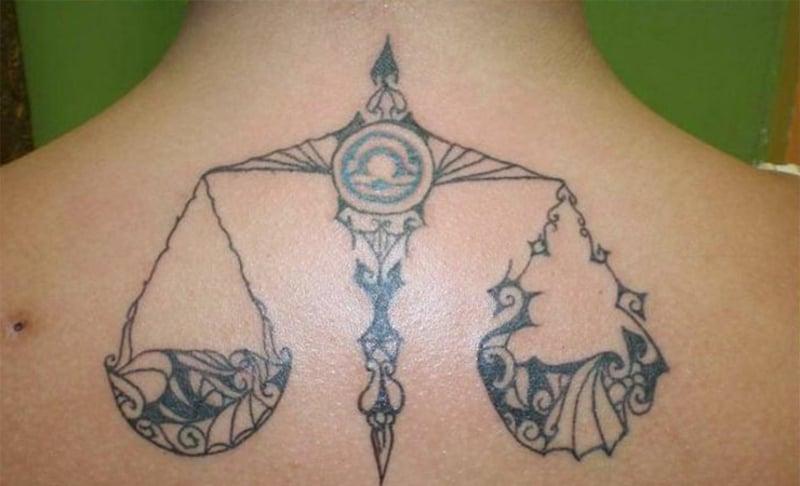 sternzeichen tattoo Libra
