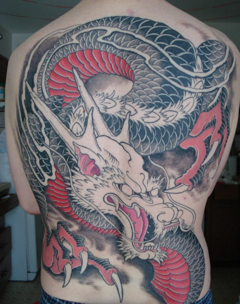 tattoo drache Dragon Tattoo