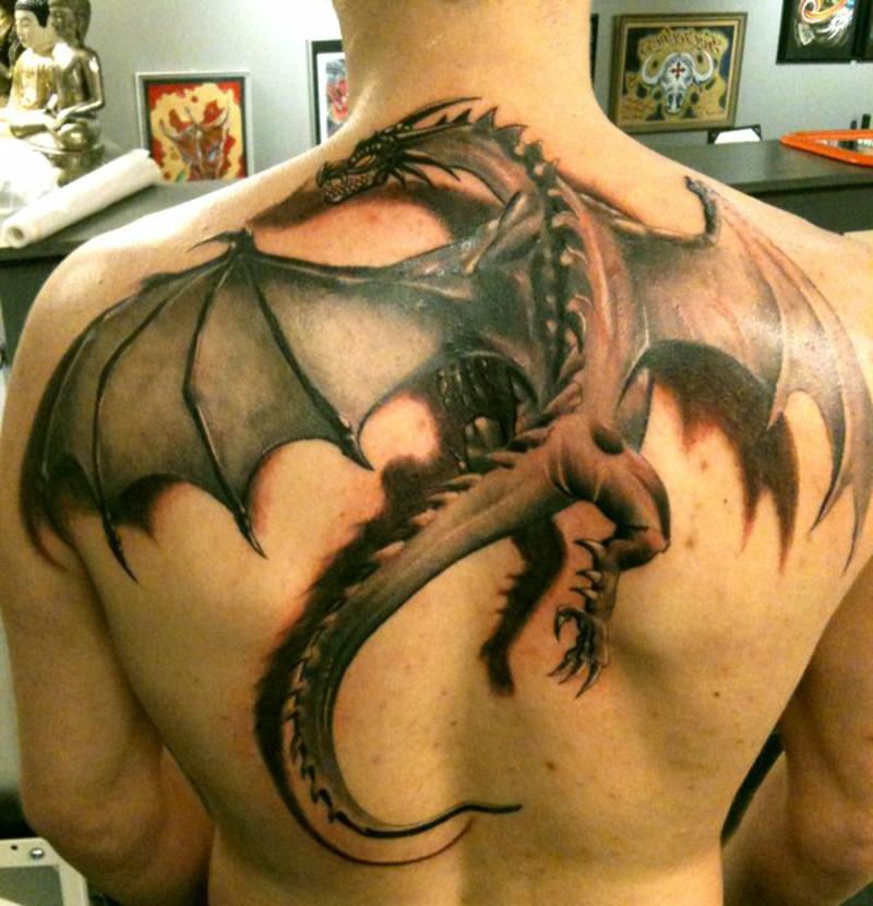 tattoo-drache