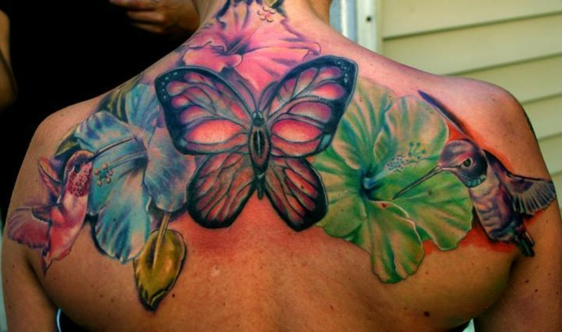 tattoo-kolibri-tatouage-colibri-hibiscus-43