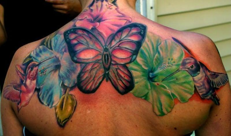 tattoo-kolibri-tatouage-colibri-hibiscus-43