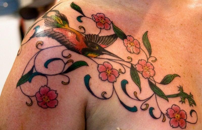 tattoo-kolibri-tattoo kolibri 2