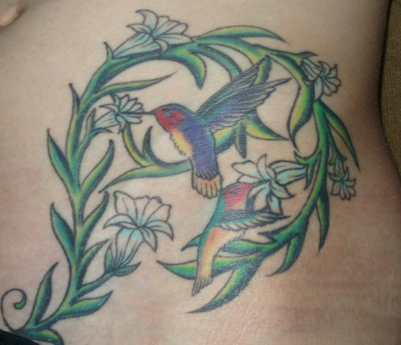 tattoo-kolibri-tattoo kolibri 3
