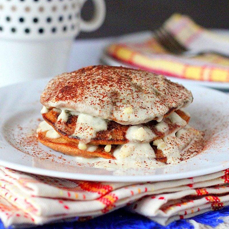 Tiramisu Vegan Pfannkuchen