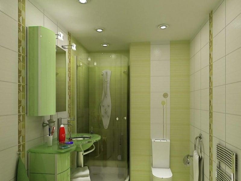 designer grünes traumbad