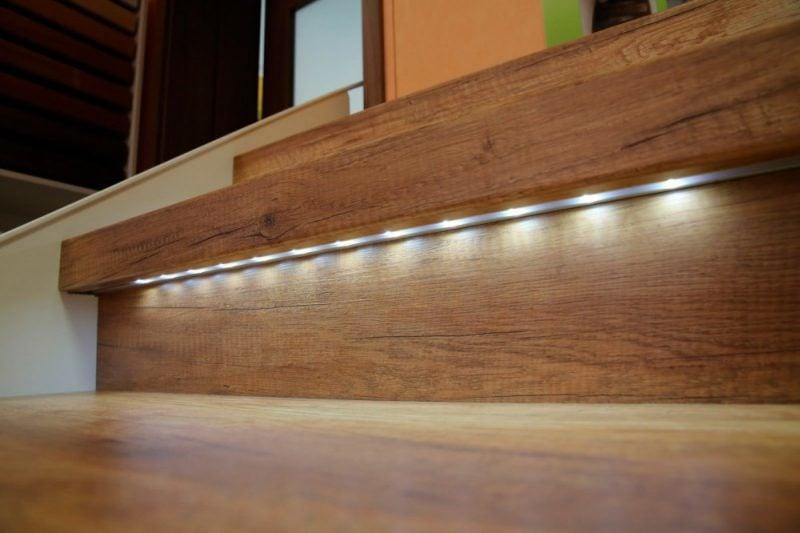 zauber in der wohnung 11 ideen f r magische treppenbeleuchtung beleuchtung zenideen. Black Bedroom Furniture Sets. Home Design Ideas