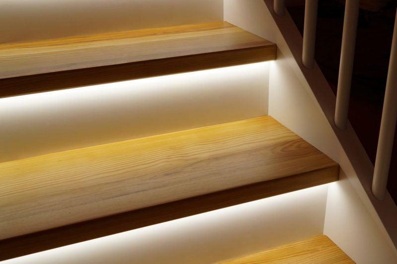 Treppenbeleuchtung Unten