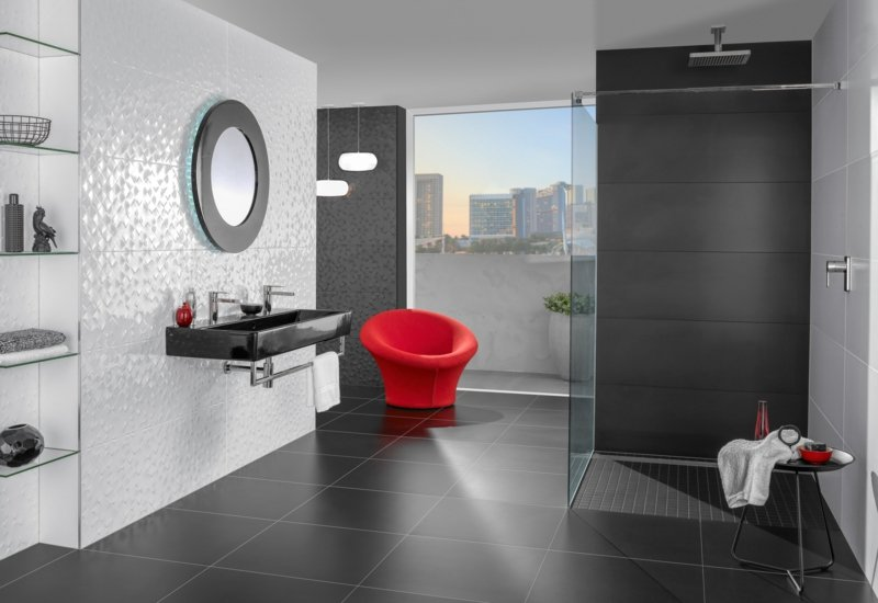 villeroy und boch fliesen Kollektion Monochrome Magic Wandverkleidung