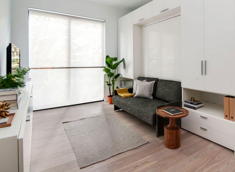 Wandbett klein Raum