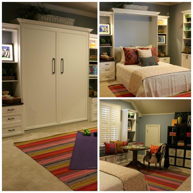Wandbett klein Zimmer