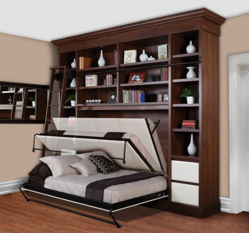 l sung f r kleine r ume 21 wandbett ideen m bel zenideen. Black Bedroom Furniture Sets. Home Design Ideas