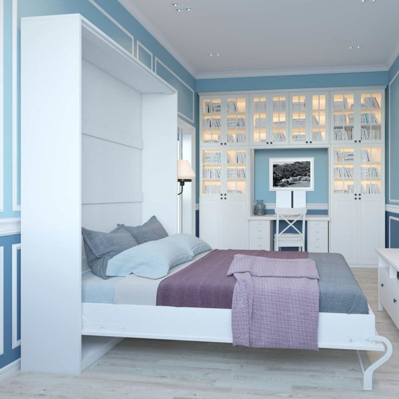 Wandbett Design Schlafzimmer