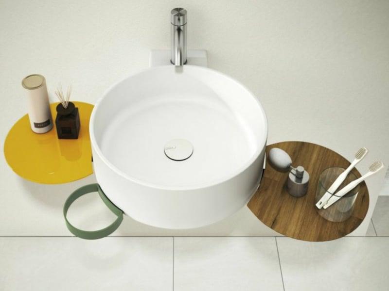 designer rundes waschbecken