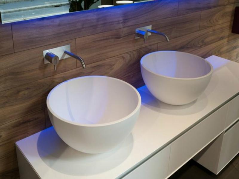 badideen für rundes porzellanwaschbecken