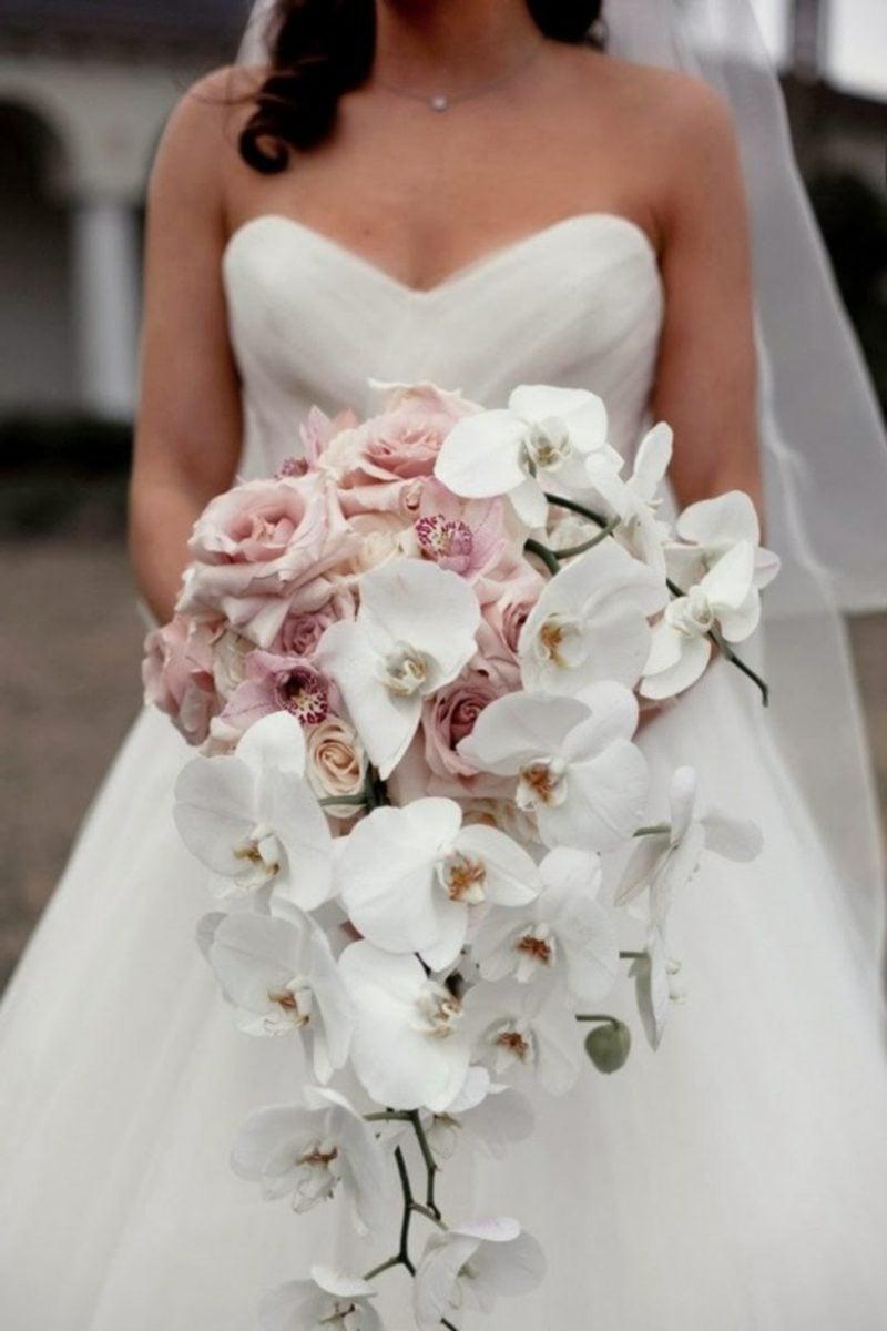 Brautstrauß Orchideen