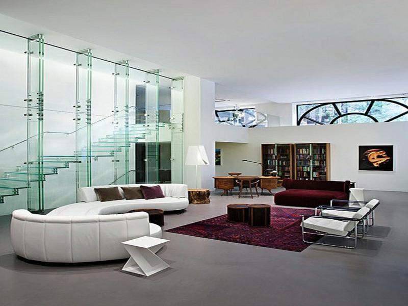 designer moderne treppen aus glas