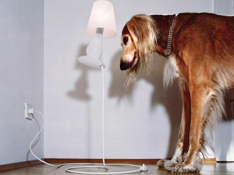 interessante lampe im wohnzimmer