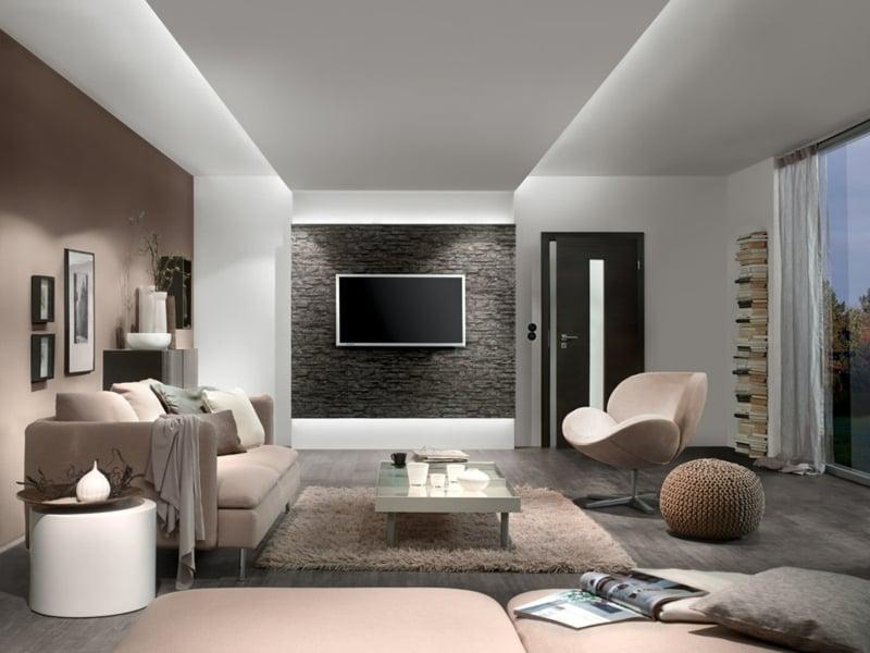 lampen und wohnzimmereinrichtungen innendesign wohnzimmer zenideen. Black Bedroom Furniture Sets. Home Design Ideas