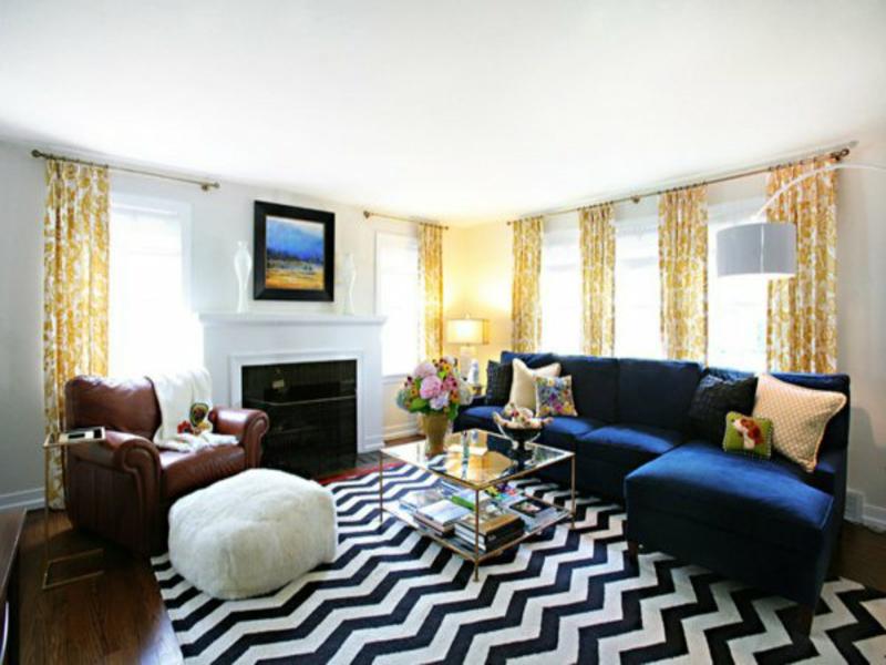 50 ideen fürs wohnzimmerteppich - teppiche & matten, wohnzimmer