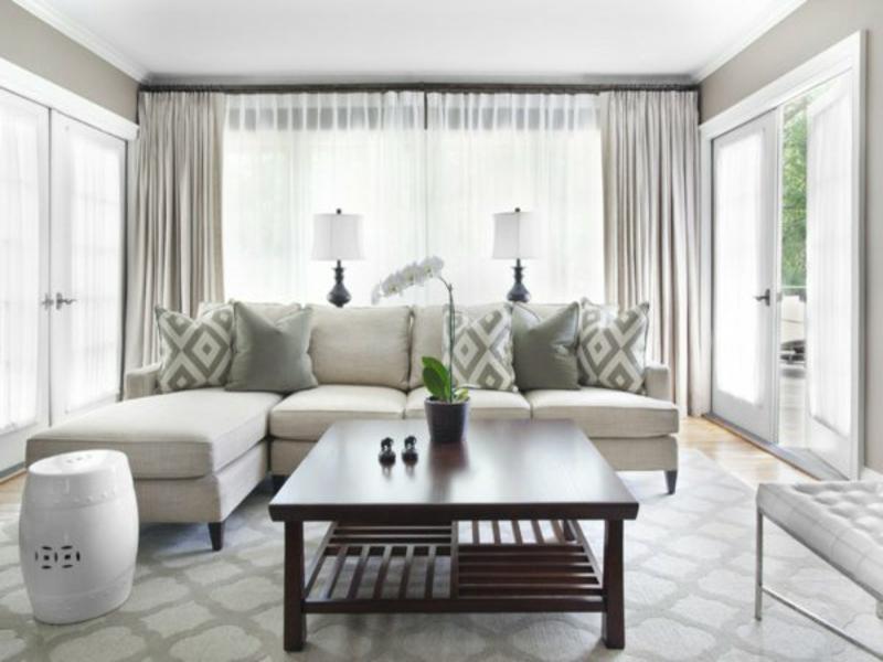 geometrie auf dem wohnzimmerteppich