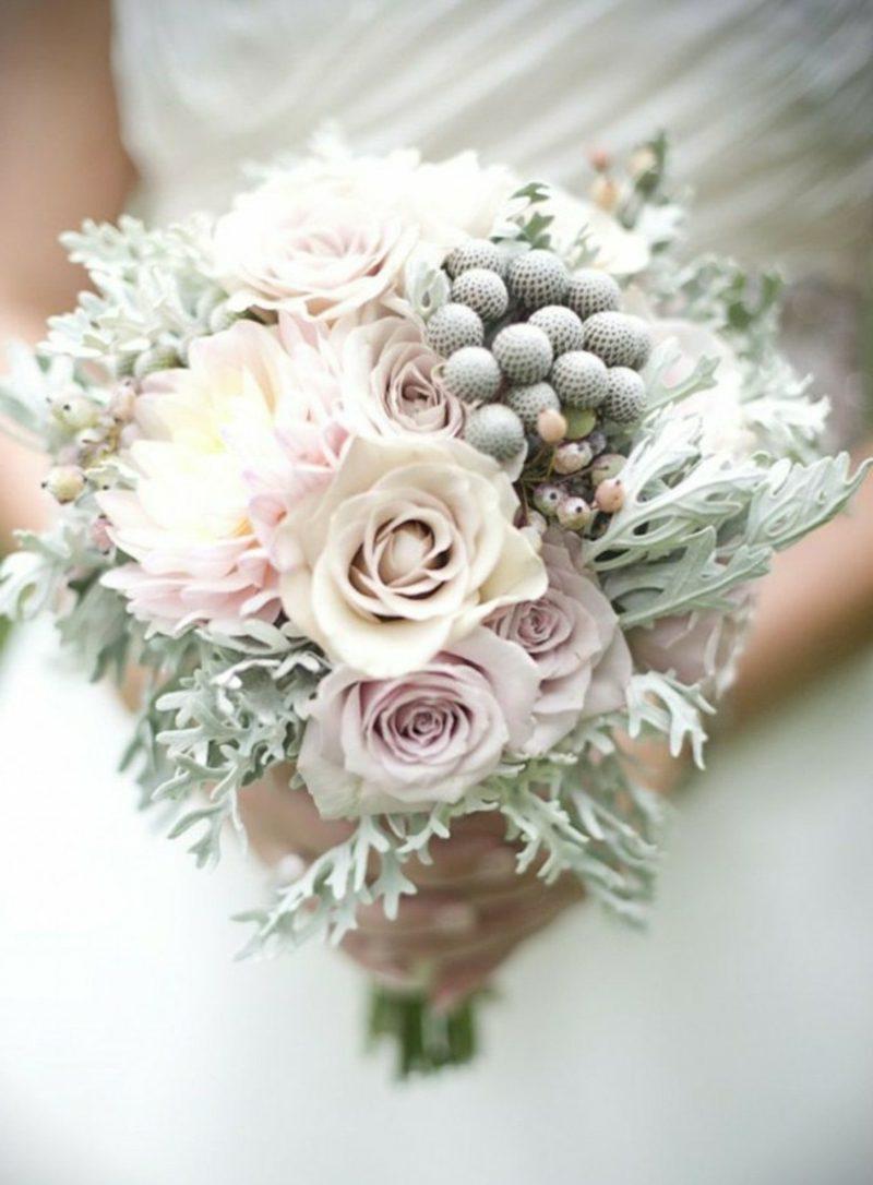 romantischer Brautstrauß Rosen