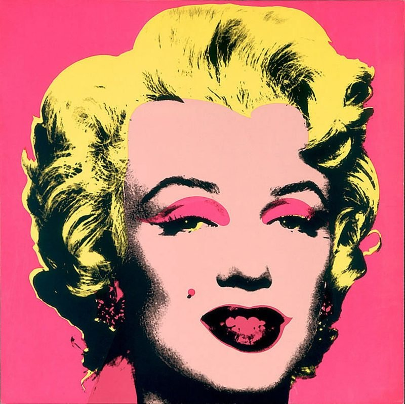 Andy Warhol Werke : Marilyn Monroe portrait