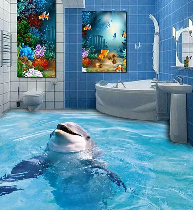 3d fliesen ideen f r das badezimmer badezimmer bodenbel ge fliesen diy zenideen Fliesen badezimmer boden