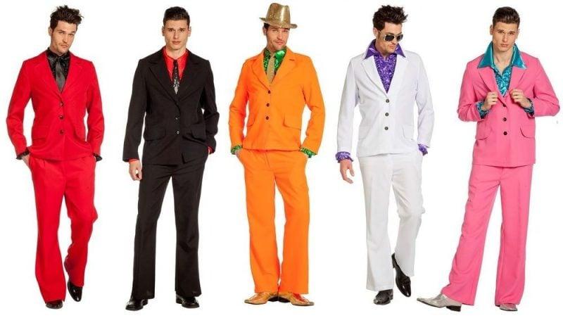 80er Kostüm Männer